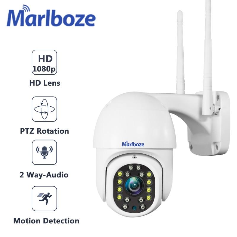 IP-камера Marlboze1080P уличная Водонепроницаемая с поддержкой Wi-Fi, 2 МП