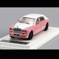 original 164 model car rolls royce phantom7 mansory edition 4 door diecast alloy collection pink