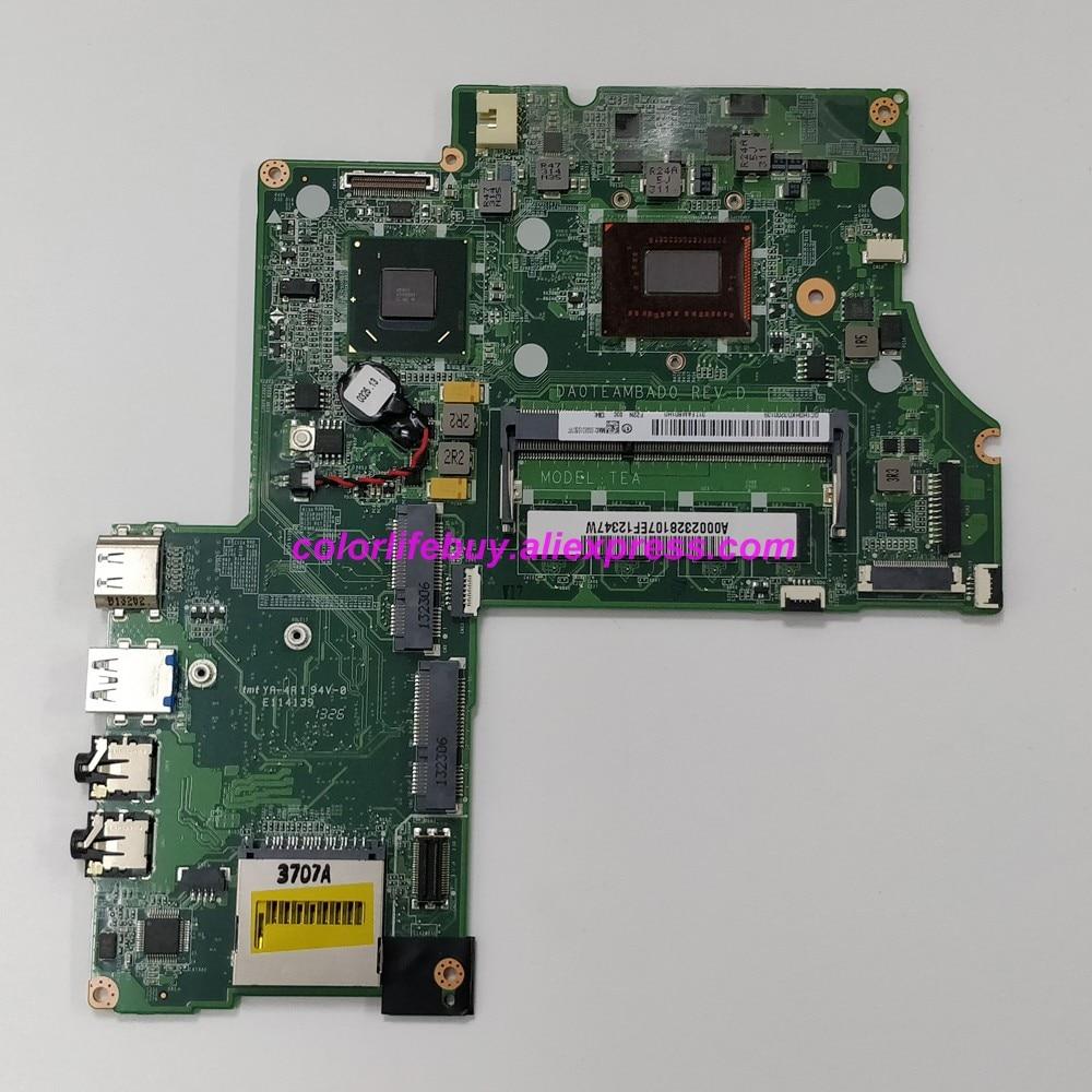 Genuino A000232810 DA0TEAMBAD0 w i5-3337U CPU SLJ8C ordenador portátil placa base para Toshiba Satellite U845 U840 Notebook PC