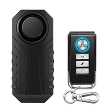 Waterproof Motorcycle Bike Anti-Theft Alarm Wireless Remote Control Bicycle Security Alarm 113dB Ele