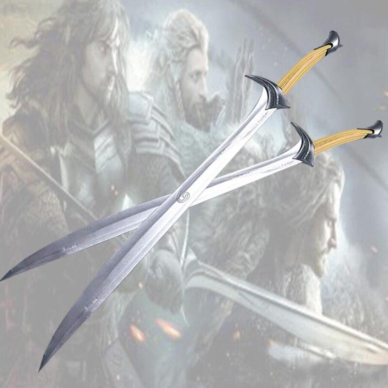99cm o príncipe dos elfos legolas espada pu decoração de casa