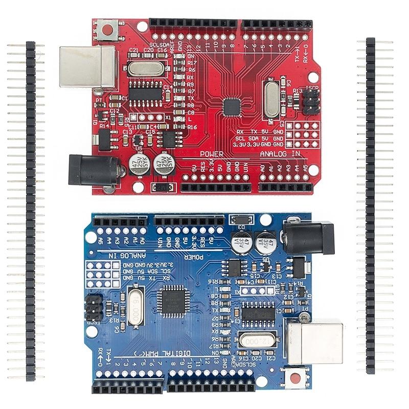 Arduino UNO R3 CH340G+MEGA328P SMD Chip 16Mhz for UNO Arduino R3 Development Board USB CABLE ATEGA328P