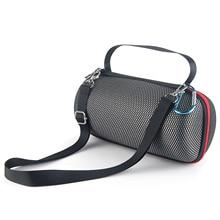 Newest Grid Case for JBL Pulse 4 Carrying Bag Cover Case for JBL Pulse4 Bluetooth Speaker Zipper Travel Protective Shoulder Box