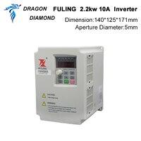 VFD Inverter 2.2KW Frequency Converter 3P 220V/110V Output CNC Spindle motor speed Control VFD Converter