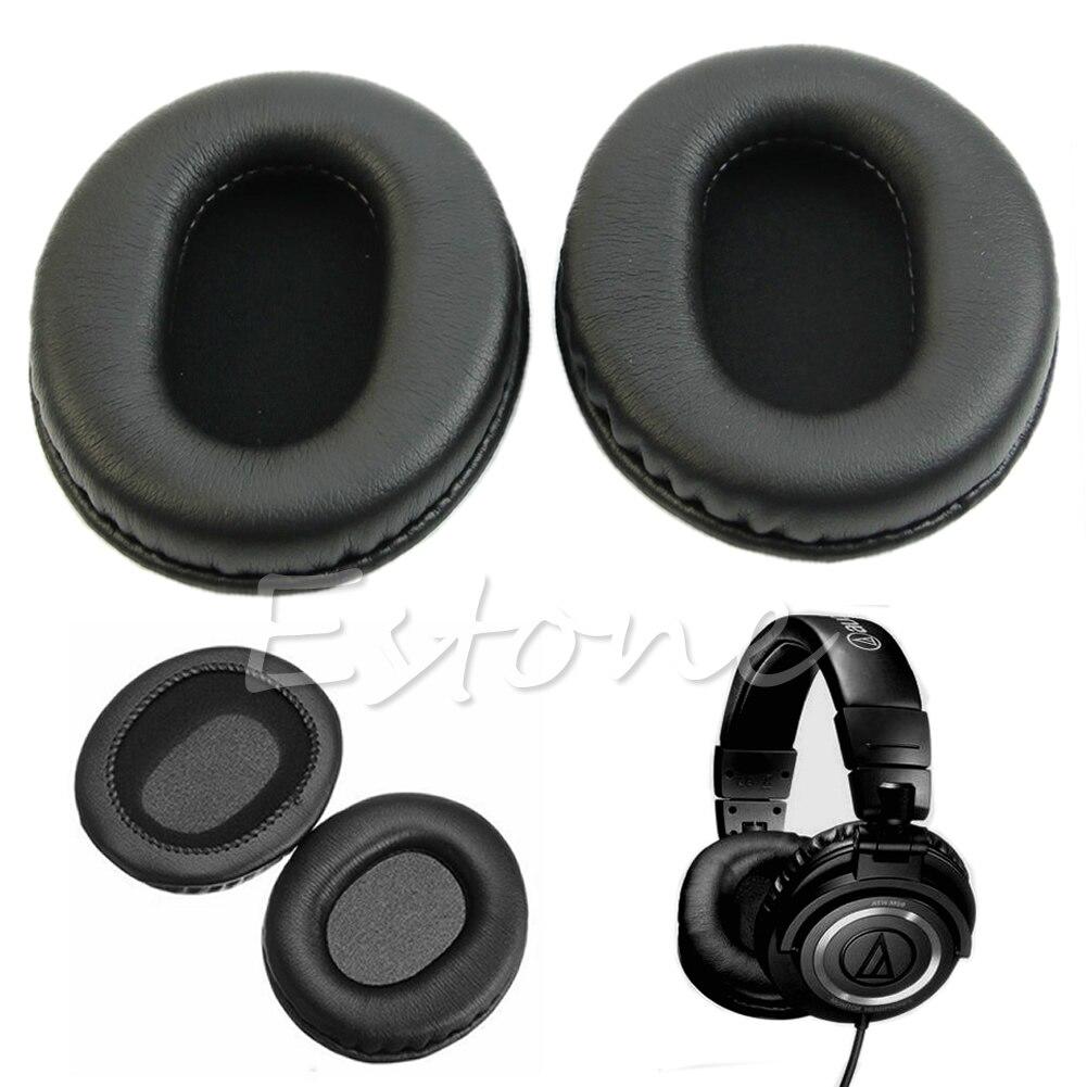 1 par substituição almofadas de ouvido conjunto almofada para áudio technica ATH-M50 m50s m20 m30 fone ouvido
