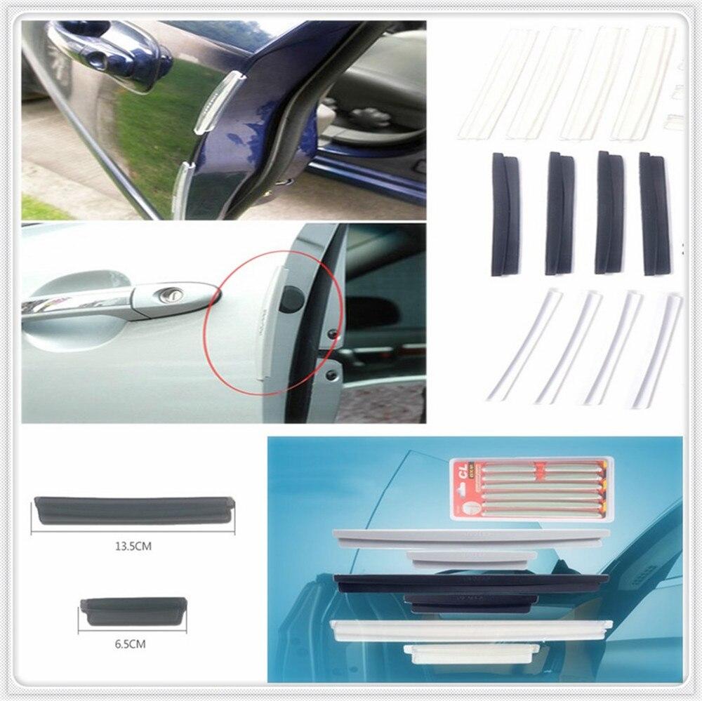 Protector de parachoques de raspado de tiras protectoras de Borde de puerta lateral de coche para Fiat Fiorino 595 500 500S Toro Fullback Aegea 500X Argo 500L 124