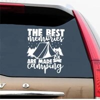 fashion camping phrase stickers voiture funny motorcycle car styling vinyl stickers on car
