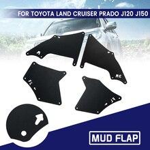 1 Set Voor Toyota Land Cruiser Prado 2003-2009 Voor Achter Auto Spatlappen Splash Guards Mud Flap Spatborden spatbord