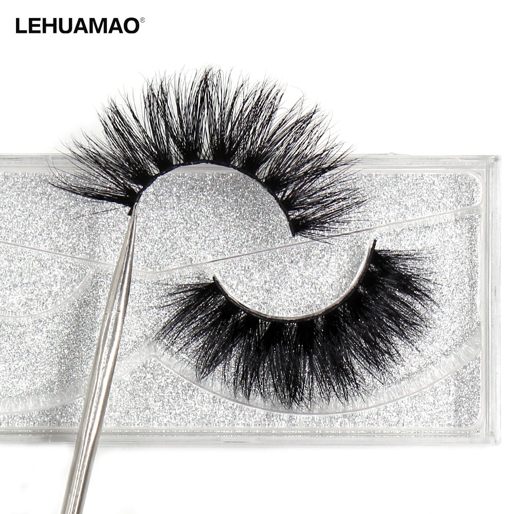 LEHUAMAO false eye lashes Natural 100% handmade thick False Eyelashes Extension sexy Soft eye lashes Mink False Eyelashes D22 недорого