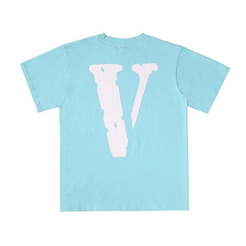 تي شيرت رجالي فلون تي شيرت قطني 100% ملابس خروج نسائية للصيف الولايات المتحدة الأمريكية تي شيرت هيب هوب بأكمام قصيرة