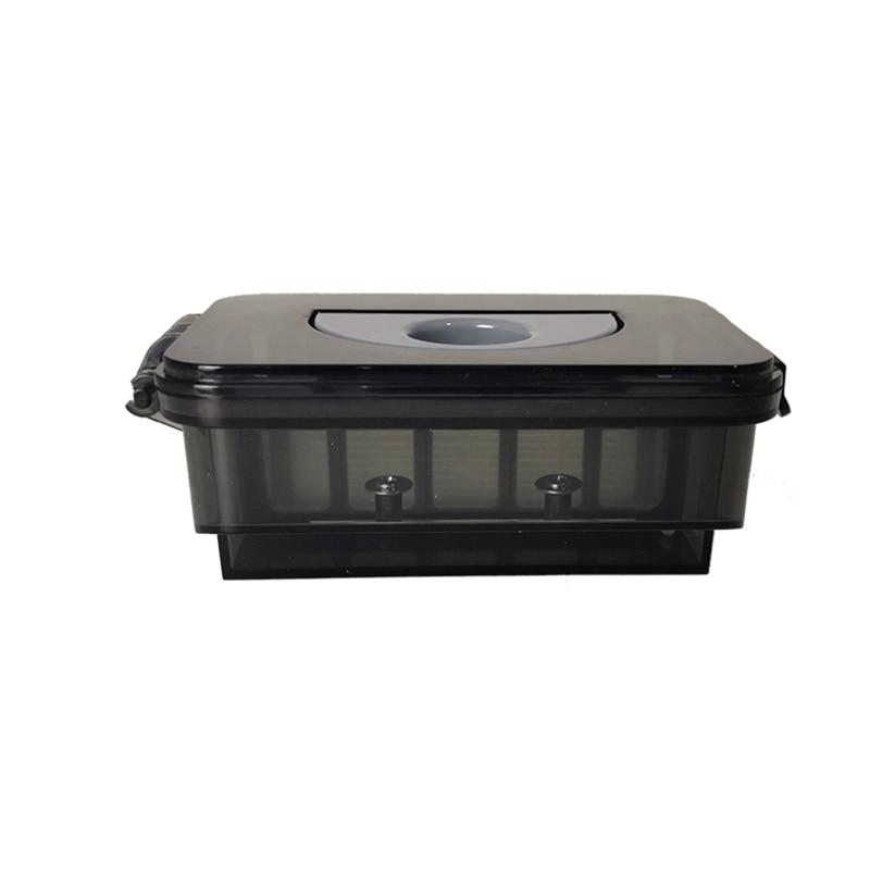 Robot caja de polvo filtro Hepa Red de prefiltro para Midea VCR01 VCR12 MR01 repuestos de aspiradora robótica Filtro de accesorios