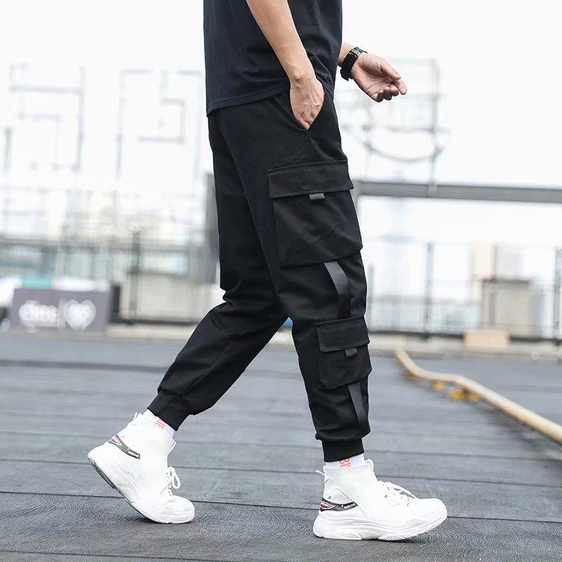 Чоловічі бічні штани з кишенями, - Чоловічий одяг - фото 3