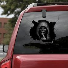 Autocollant de crâne silencieux dhorreur de style de voiture pour la grande muraille Haval Hover H3 H5 H6 H7 H9 H8 H2 M4