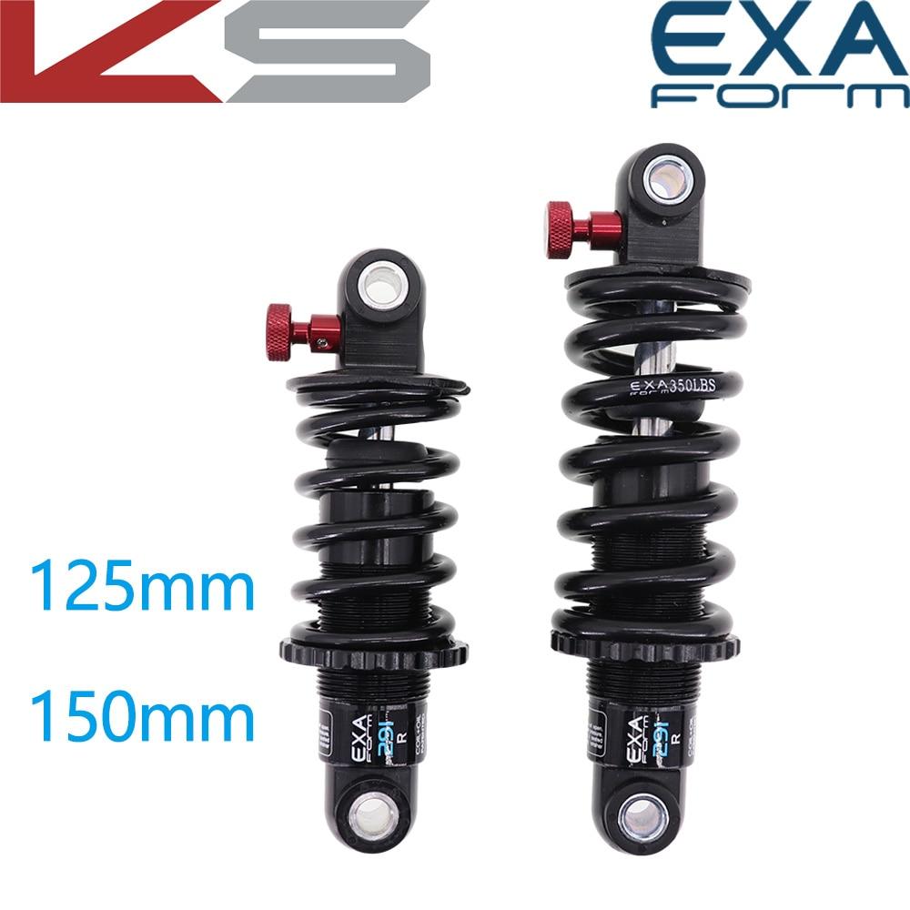 EXA Form Rear Shock Absorber 291 R adjustable Suspension Spring Kindshock Downhill MTB Bike 125 150 165 190 mm electric scooter
