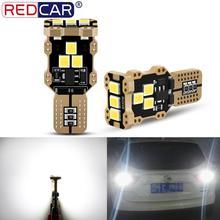 2Pcs T15 W16W Led Lamp Canbus Foutloos 921 912 Autolichten Backup Reverse Lights Auto Achterlichten Auto dagrijverlichting 12V
