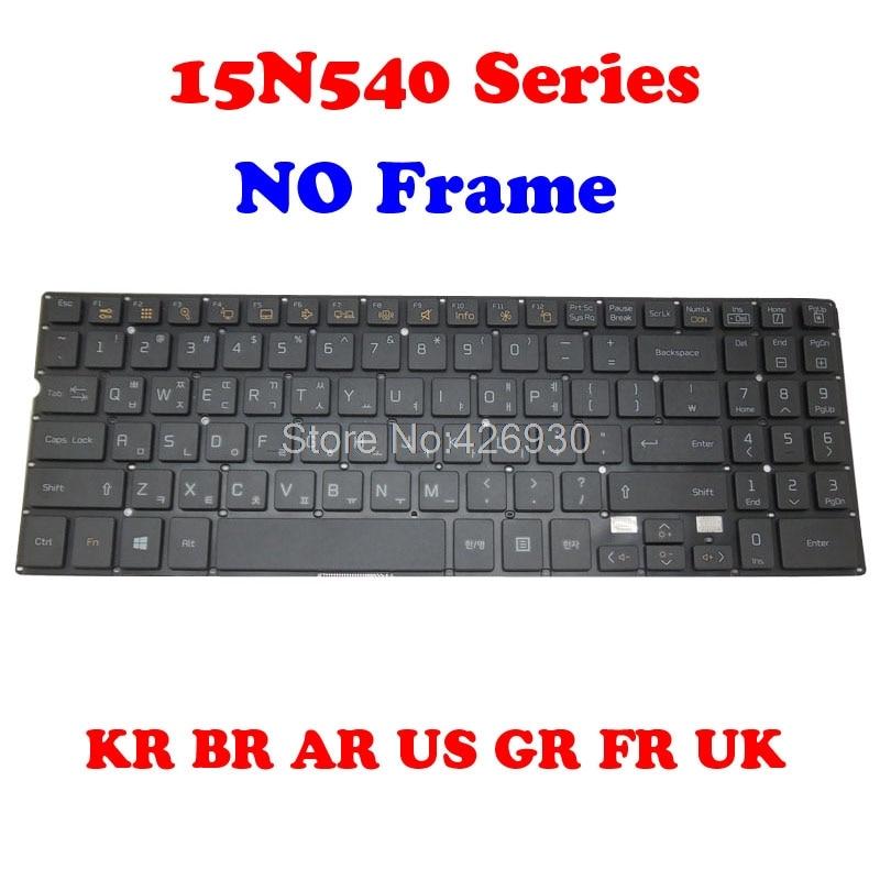 BR AR لنا GR لوحة المفاتيح ل LG 15N540-A 15N540-C 15N540-E 15N540-F 15N540-G 15N540-H 15N540-K 15ND540 15ND540-E 15ND540-G 15ND540-U