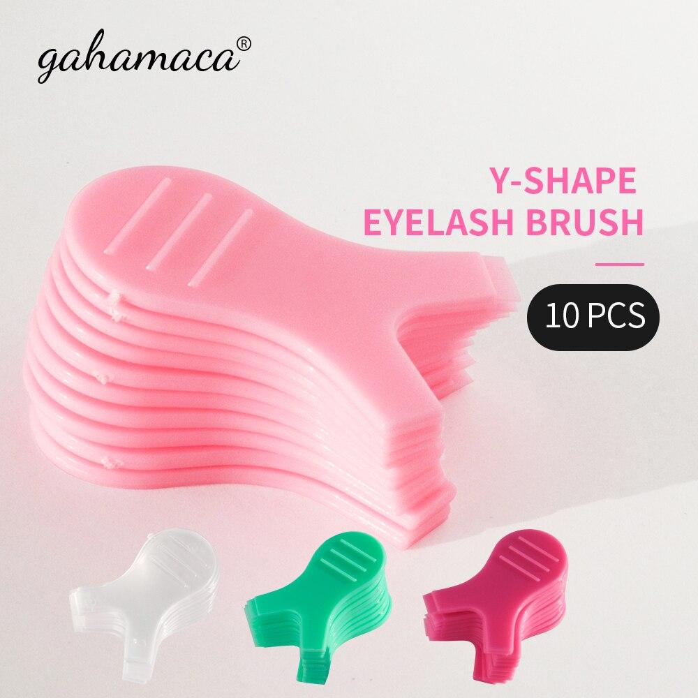 pro eye lash 10pcs/Lot Y Shape Silicone Eyelashes Lift Lifting Curler Eye Lash Extension Graft Brush Makeup Mascara Tool Eye Lash Perming Pad