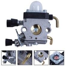 Gray Carburetor Carb 2-Stroke  Anti-Slip Aluminum Carburetor For STIHL FS38 FS45 FS46 FS55 FS74 FS75 FS76 FS80 FS85 Trimmer