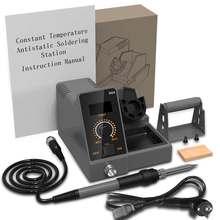 SD2 LCD 60W Thermostat fer à souder boîte à outils température réglable soudage poste de reprise outils de réparation avec Base de fil de soudure