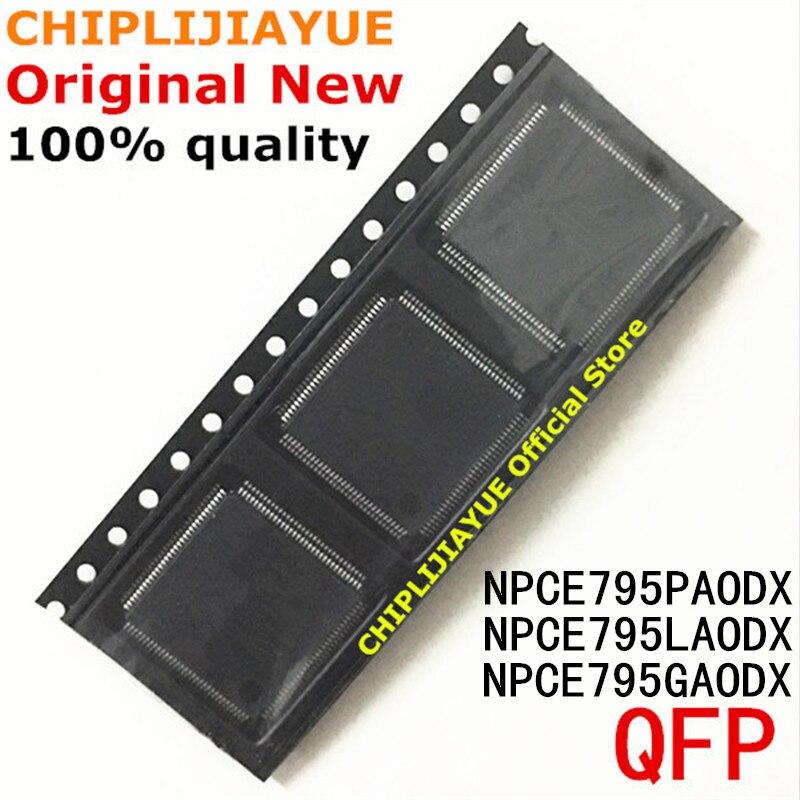 5PCS NPCE795LAODX NPCE795PAODX NPCE795GAODX NPCE795LA0DX NPCE795PA0DX NPCE795GA0DX QFP-128 Novo e Original Chipset IC