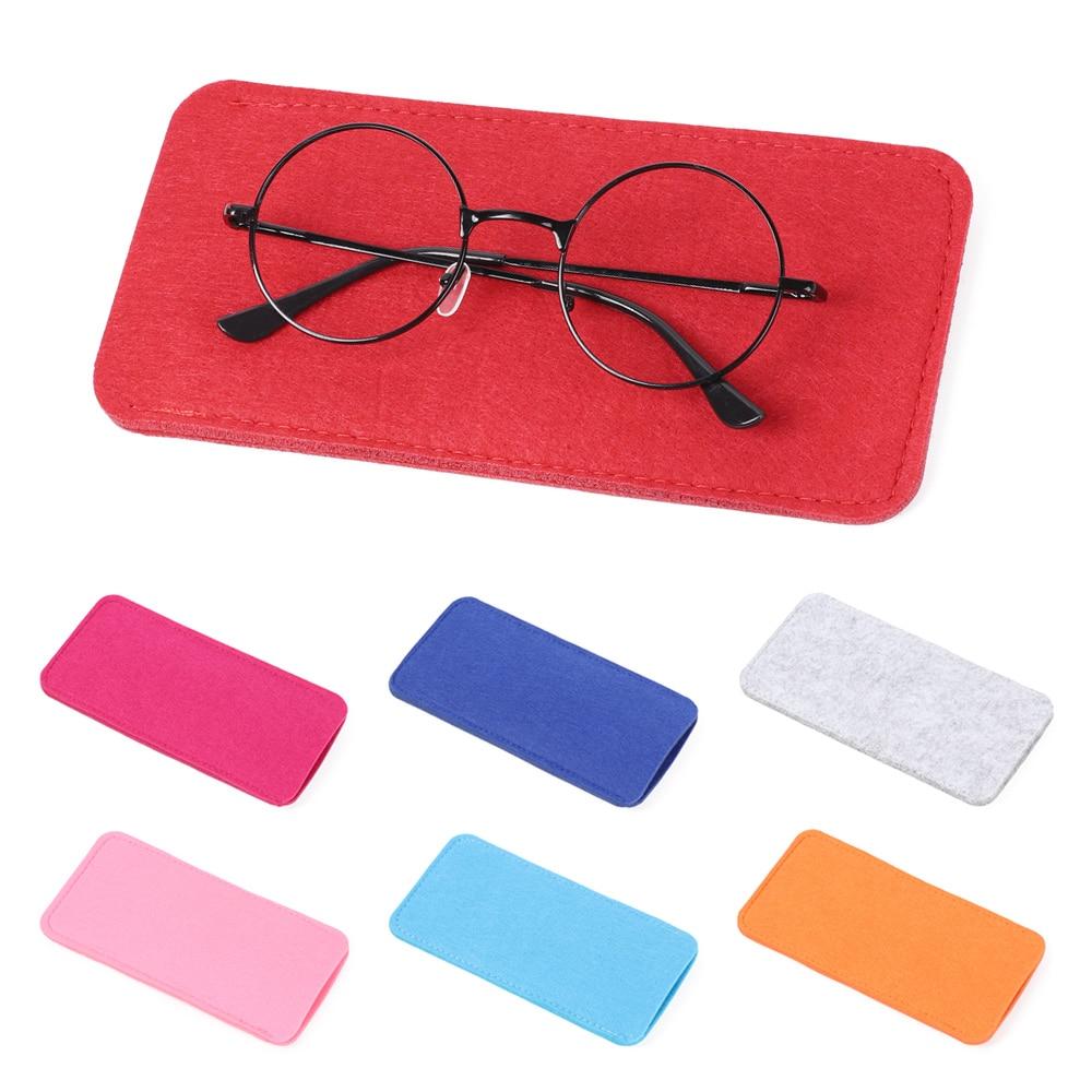 2020 New Soft Sentiu Pano Óculos de Leitura Bolsa Dos Homens Das Mulheres óculos de Sol Óculos Óculos Óculos Caso Protetor Saco Manga