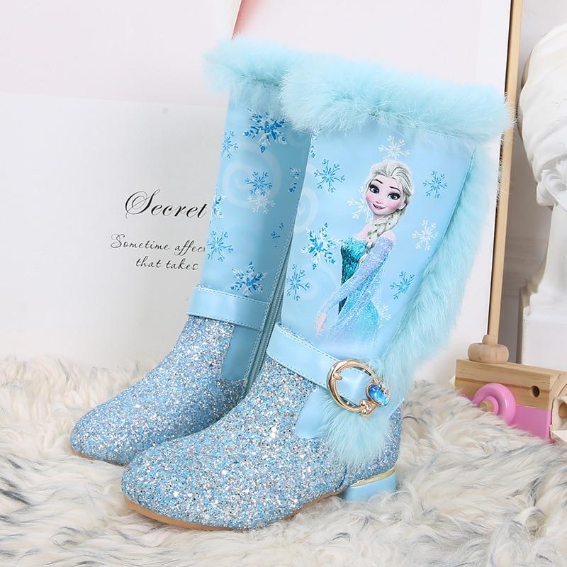 frozen-princess-elsa-child-girl-baby-high-heeled-boots-autumn-winter-high-top-plush-snow-boots-keep-warm-boots