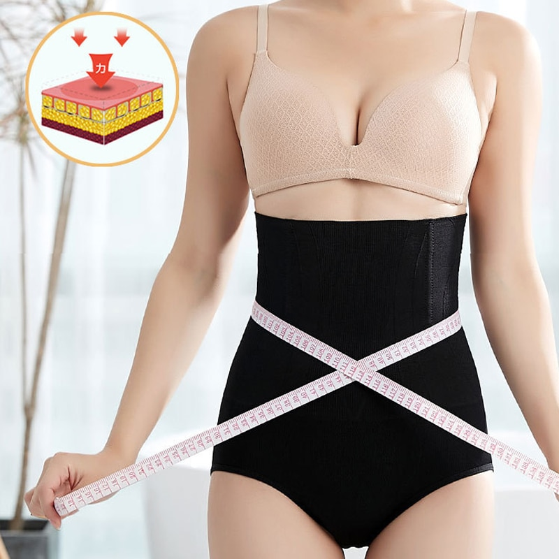 Postpartum Belly Band Abdominal Compression Corset Girdle Shorts with Hip C Section Panty Belly Band