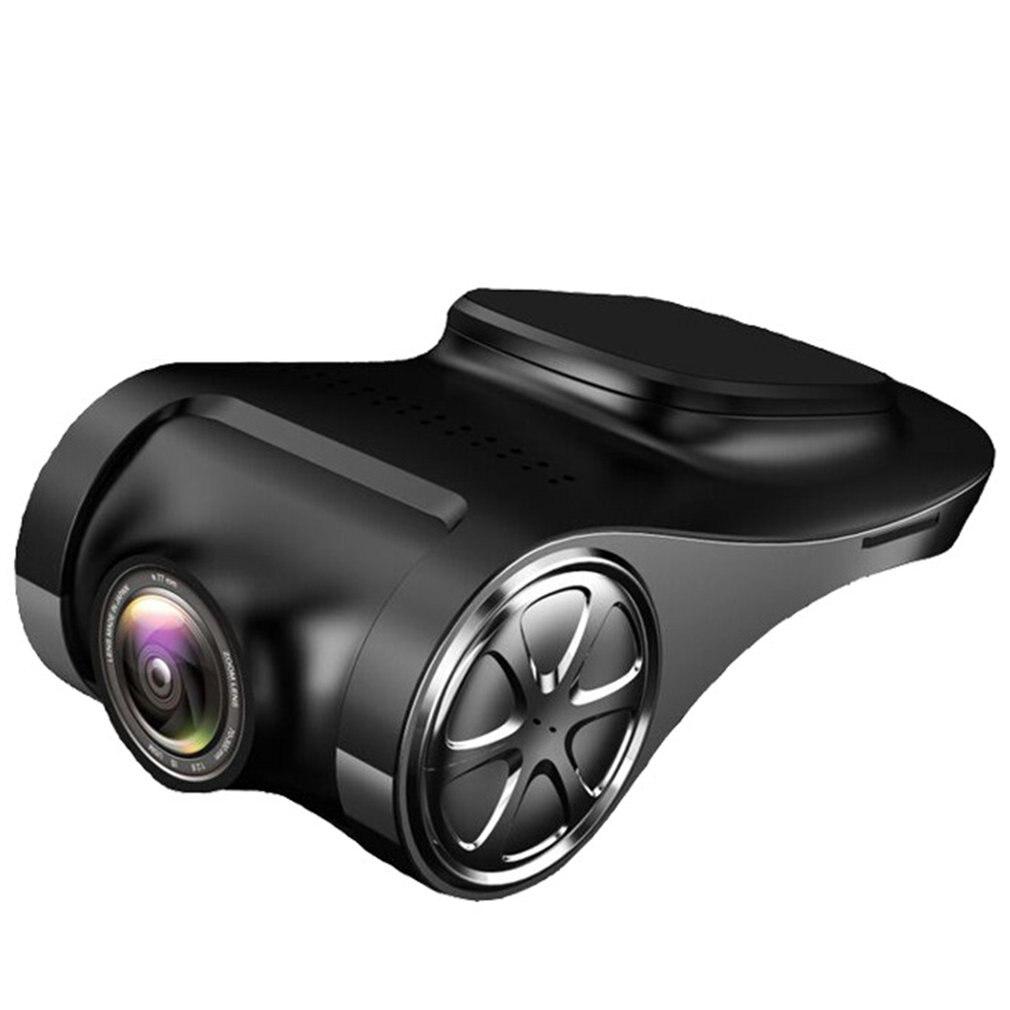 Cámara inteligente de coche grabadora de conducción USB Navegador de pantalla grande para Android foto video auto vídeo en bucle visión nocturna
