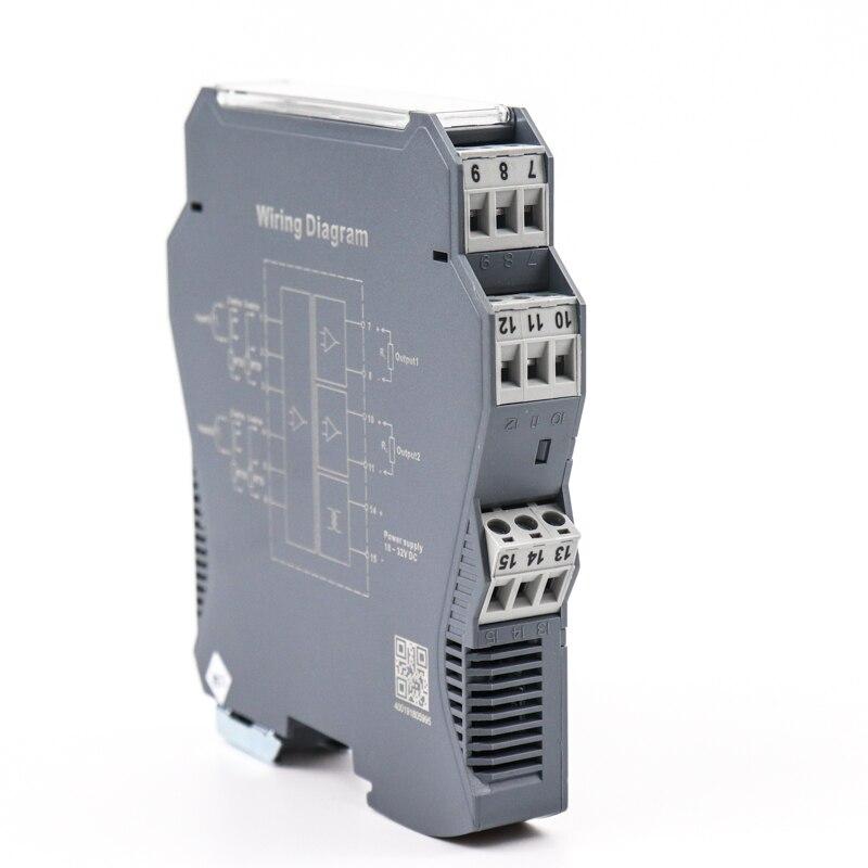 Transmisor de temperatura Din rail pt100 a convertidor 4-20ma