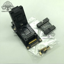 UFS BGA 254 адаптер гнезд для легкий jtag плюс коробка