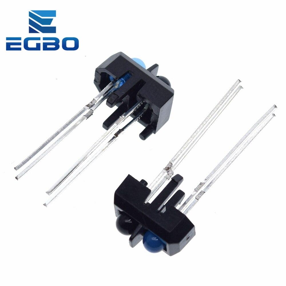 Egbo 10 stücke TCRT5000L TCRT5000 Reflektierende Infrarot Optische Sensor Lichtschranken