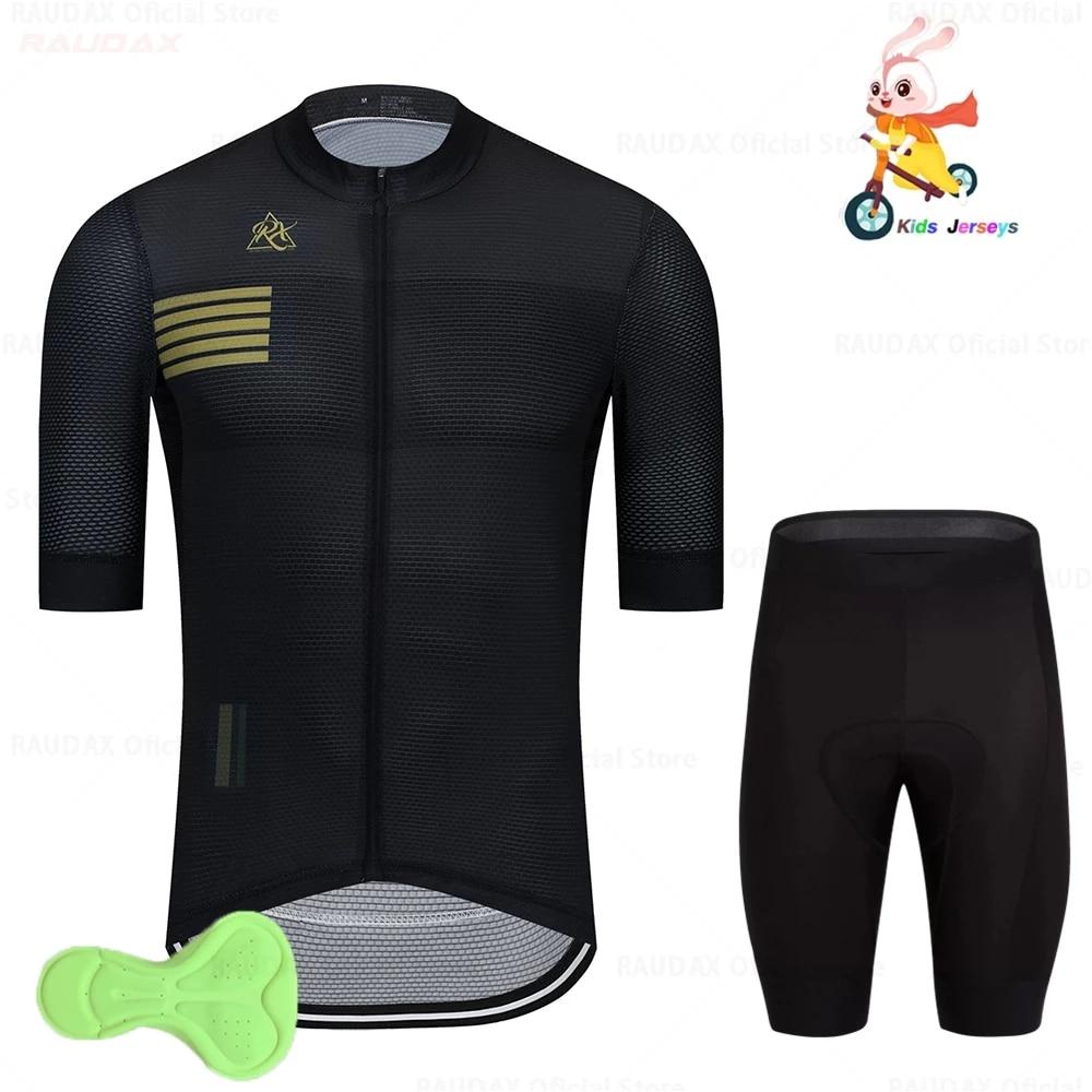Conjunto de Ropa de Ciclismo para niños traje de manga corta de......
