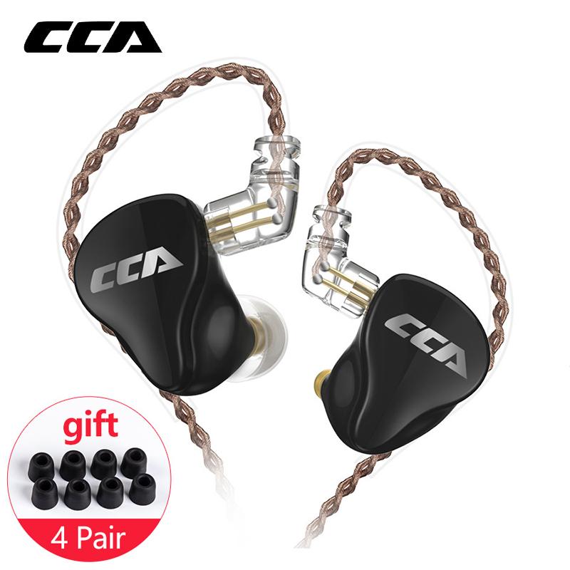 CCA CA16 1DD+7BA Hybrid Drivers HIFI Monitoring Earphone Headset In Ear Earphone with 2PIN 0.75 3.5MM Connecter CCA C12 C16 ZSX