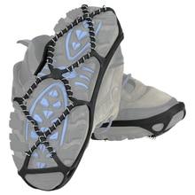 1 paire Crampons de glace pince antidérapant élastique hiver neige botte chaussures couvre escalade randonnée glace anti-dérapant neige Traction Crampons