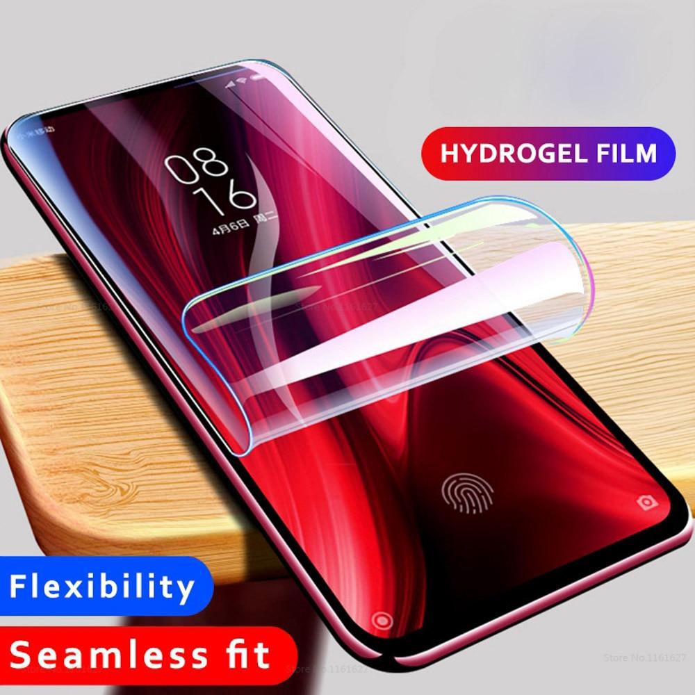 Hydrogel Film For Xiaomi Redmi 4A 6A 4 Note A2 Lite Screen Protector Protective Case For Xiomi Mi 5S