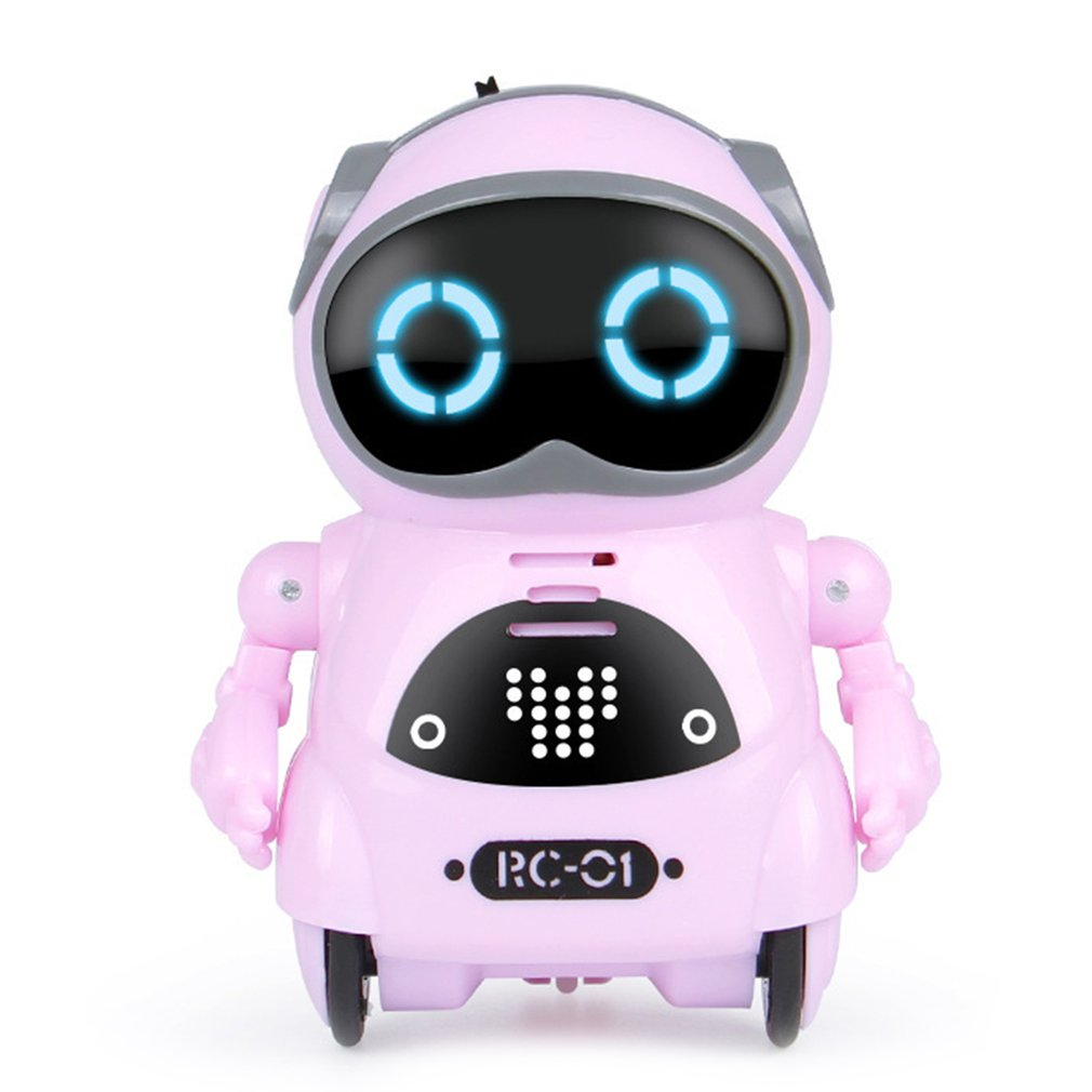 Фото - Electric Multifunctional Voice Intelligent Mini Pocket Robot Early Education Interactive Story Robote Story Robot smart wifi talking interactive dialogue voice recognition record robot singing dancing telling story mini intelligent robot kids