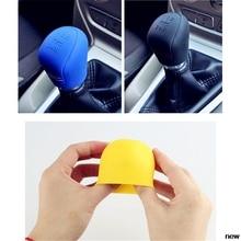 Car suv rubber Gear Shift Knob shifter Cover for Toyota FJ Cruiser RAV4 CROWN REIZ PRIUS COROLLA VIOS LAND CRUISER PRADO