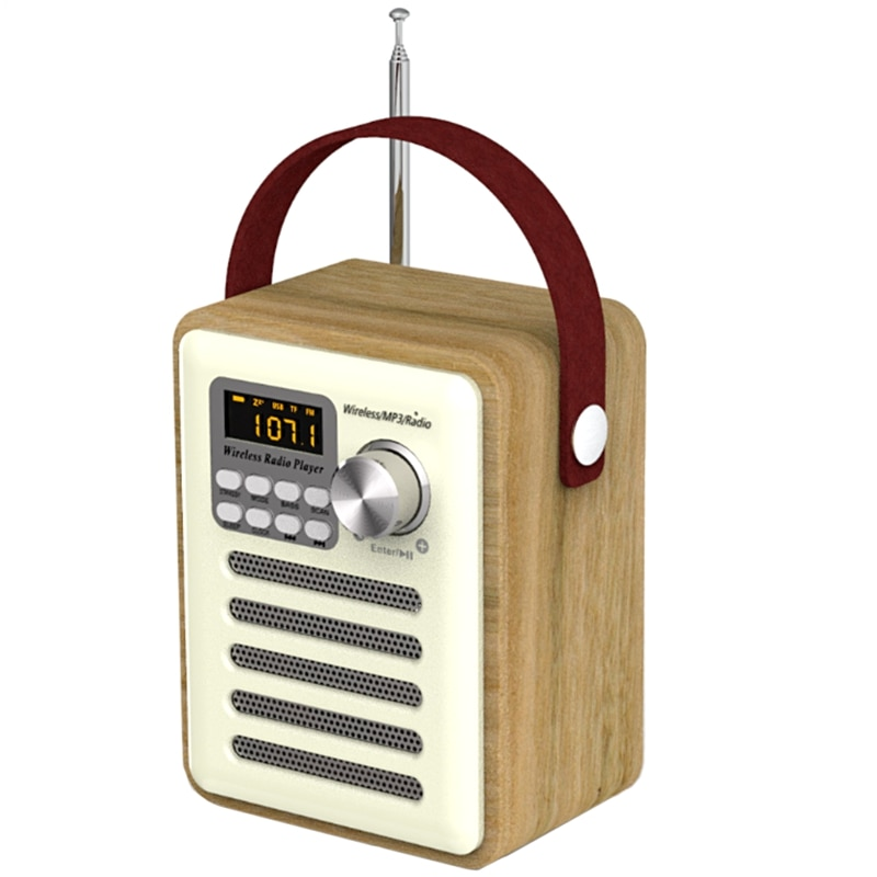 Receptor de Radio Digital Universal con Bluetooth 5,0, Radio FM, reproductor MP3,...