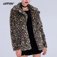faux fur coat women autumn winter 2021 casual sexy snow white leopard print long jacket female loose outwear warm clothing 4xl