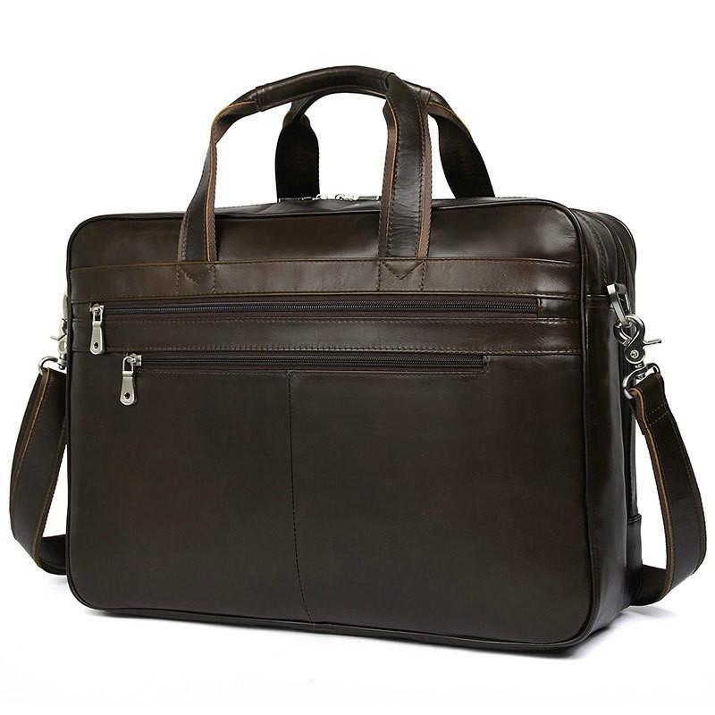 حقيبة كتف غير رسمية من الجلد الطبيعي للرجال ، حقيبة كتف جلدية للرجال ، حقيبة كتف للأعمال ، حقيبة سفر