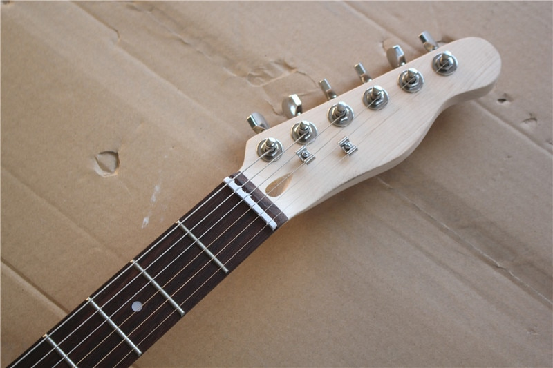 Semi-Hollow Body DIY Electric Guitar Builder Kit Project Mahogany Unfinished New Single Cutaway 2 orders enlarge