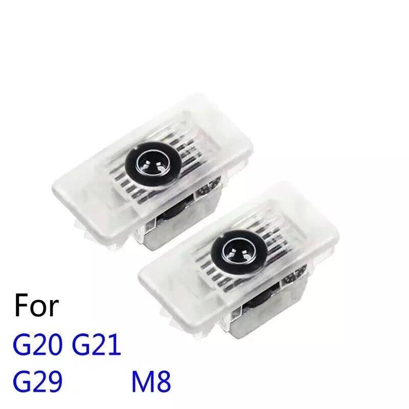 2 шт. светодиодный Автомобильный Дверной светильник с логотипом проектора Ghost Shadow лампа для BMW 8 3 серии G20 G21 G29 Z4 M8 2019-2020 аксессуары G20