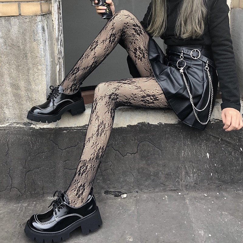 Women's Stockings Female Stockings Black High Waist Plus Size Stretch Tights Exotic Accessories Sexy Lingerie For Women