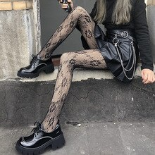 Women's Stockings Female Stockings Black High Waist Plus Size Stretch Tights Exotic Accessories Sexy
