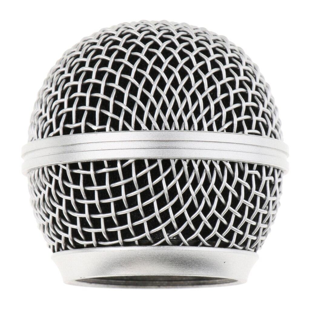 Прочный-Сталь-микрофонная-решетка-микрофон-сетка-решетка-шаровая-Головка-устойчивая-к-ржавчине