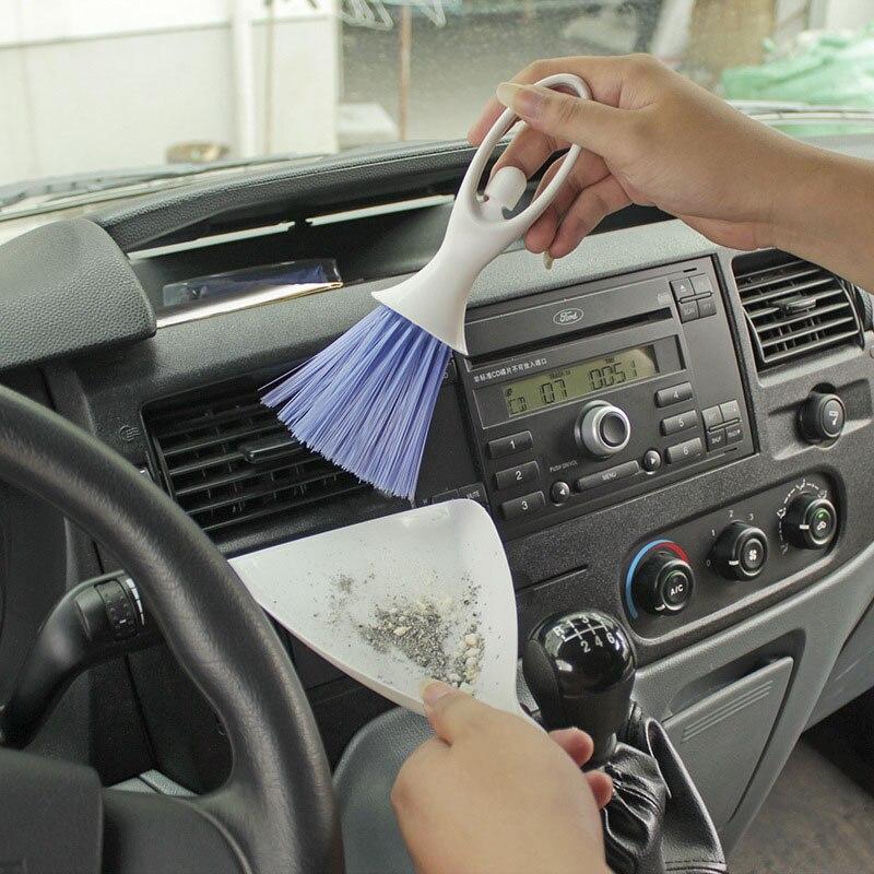 Щетка для чистки автомобильного воздуховыпускного отверстия, многофункциональная щетка для чистки автомобильного мертвой зоны, фотоинстр...