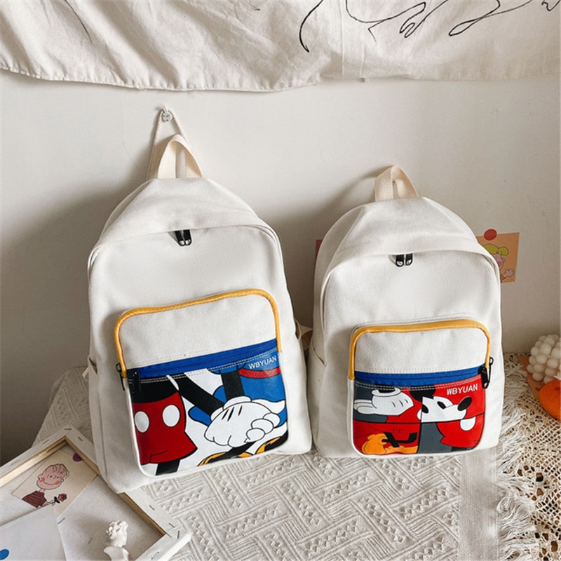 Disney 2020 summer new cartoon printed schoolbag boys girls Mickey Mouse backpack fashion cute backpack student bag travel bag