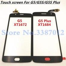 Capteur décran tactile pour Motorola Moto G5 G5 Plus G5S + G5s Plus G5s écran tactile panneau tactile pièces de rechange en verre