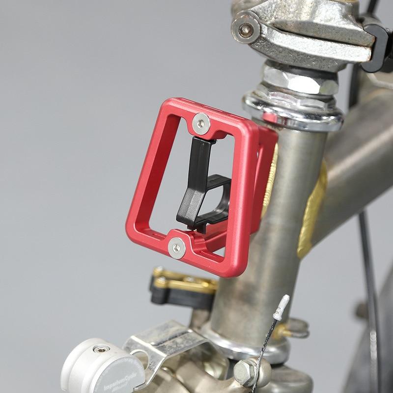 Bloque transportador delantero ultraligero para bicicletas Brompton accesorios plegables para bicicletas