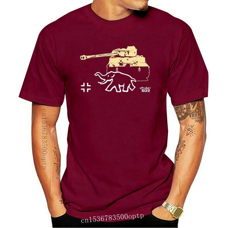 New Hot Sell 2021 Fashion WK Tiger Spzabt WH Schwere Panzer Department Bamberg Major Noticing - T Shirt O-Neck T Shirt